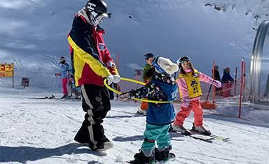 スノーボードスクール画像